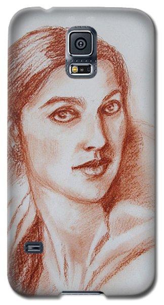 Sketch In Conte Crayon Galaxy S5 Case