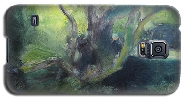 Sketch Of A Shady Glade. Galaxy S5 Case by Harry Robertson