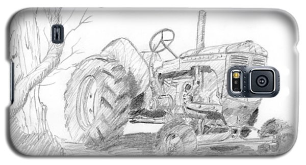 Sketchy Tractor Galaxy S5 Case