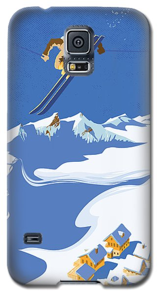 Sky Skier Galaxy S5 Case