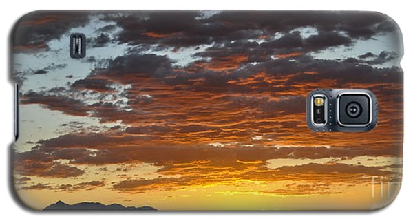 Skies Of Gold Galaxy S5 Case by Gina Savage