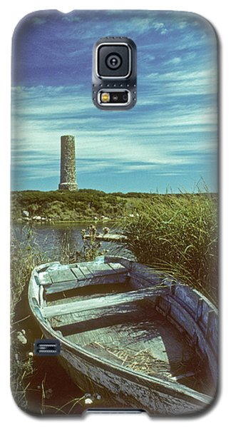 Skiff At Westend Pond Galaxy S5 Case