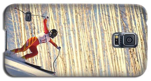 Skiing In Aspen, Colorado Galaxy S5 Case