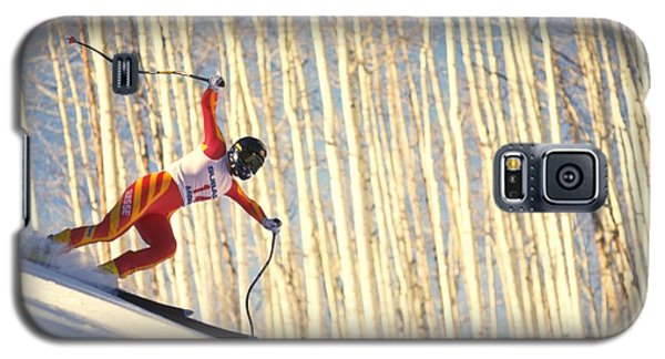 Skiing In Aspen, Colorado Galaxy S5 Case
