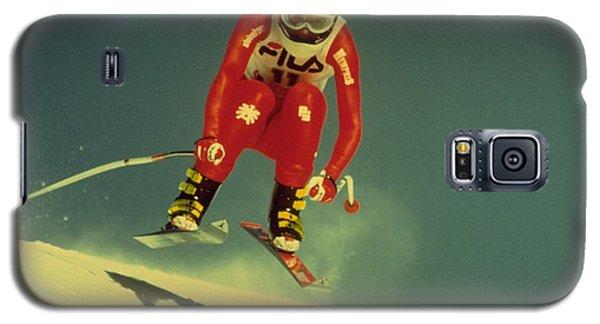Skiing In Crans Montana Galaxy S5 Case