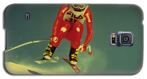 Skiing In Crans Montana Galaxy S5 Case