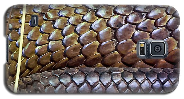 Galaxy S5 Case featuring the photograph Skin Of Inland Taipan by Miroslava Jurcik