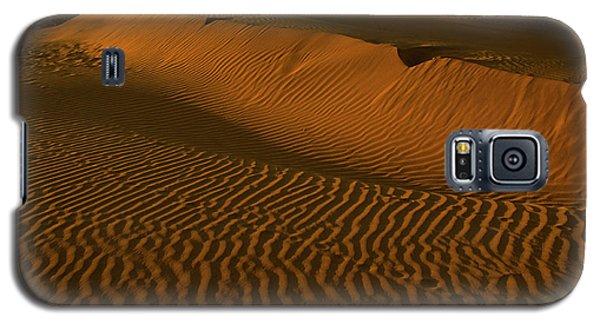 Skn 1127 The Golden Dunes Galaxy S5 Case