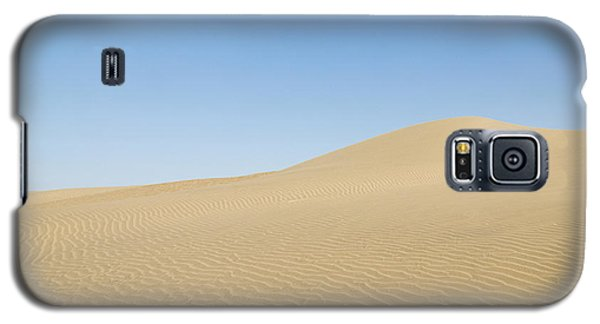 Skn 1412 The Ripples On The Slope Galaxy S5 Case by Sunil Kapadia
