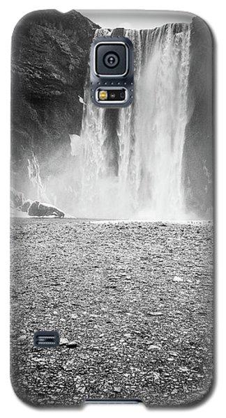 Skogafoss In Winter Galaxy S5 Case