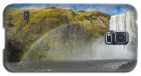 Skogafoss Rainbow Galaxy S5 Case