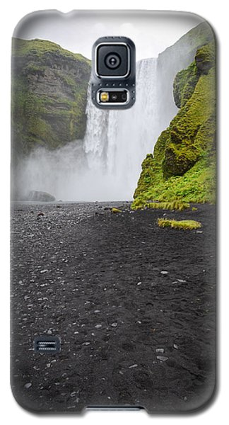 Skogafoss The Entrance To Fimmvorduhals Galaxy S5 Case