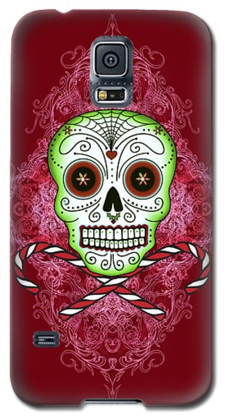 Skull And Candy Canes Galaxy S5 Case by Tammy Wetzel