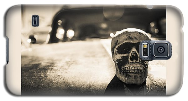 Skull Car Galaxy S5 Case