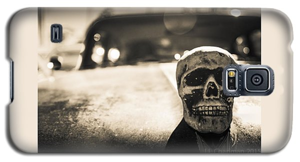 Skull Car Galaxy S5 Case by Lora Lee Chapman