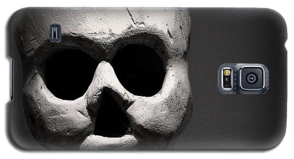 Skull Galaxy S5 Case by Joseph Skompski