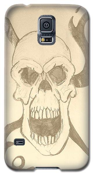 Skull Tattoo Galaxy S5 Case