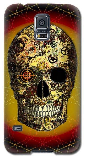 Galaxy S5 Case featuring the digital art Skullgear by Iowan Stone-Flowers