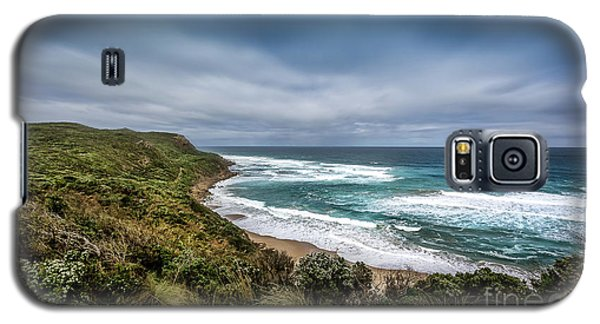 Galaxy S5 Case featuring the photograph Sky Blue Coast by Perry Webster