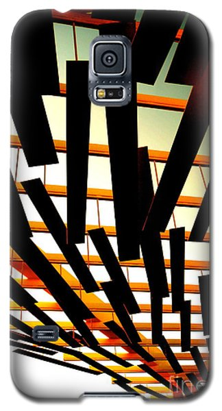 Galaxy S5 Case featuring the photograph Sky Chasm by Cathy Dee Janes