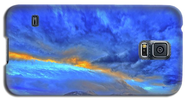Galaxy S5 Case featuring the photograph Sky Fall by Scott Mahon