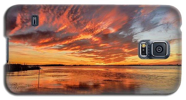 Sky Fire Galaxy S5 Case
