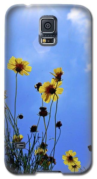 Sky Flowers Galaxy S5 Case