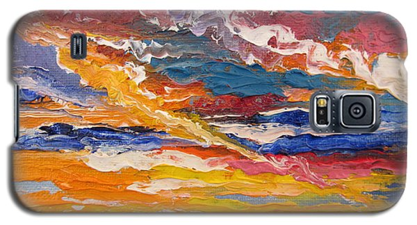 Sky In The Morning.             Sailor Take Warning  Galaxy S5 Case