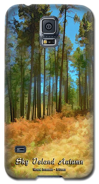Sky Island Autumn Galaxy S5 Case