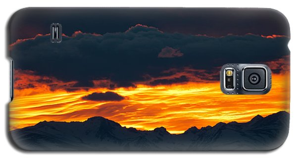 Galaxy S5 Case featuring the photograph Sky Lava by Colleen Coccia