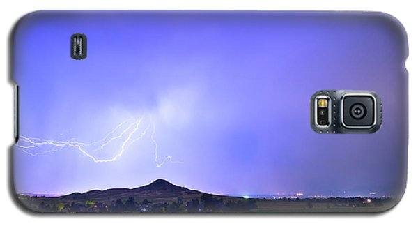 Galaxy S5 Case featuring the photograph Sky Monster Above Haystack Mountain by James BO Insogna