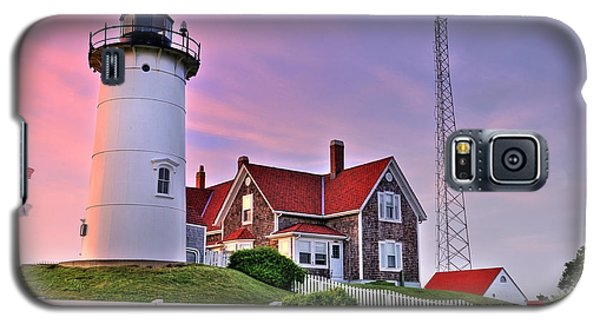 Sky Of Passion - Nobska Lighthouse Galaxy S5 Case