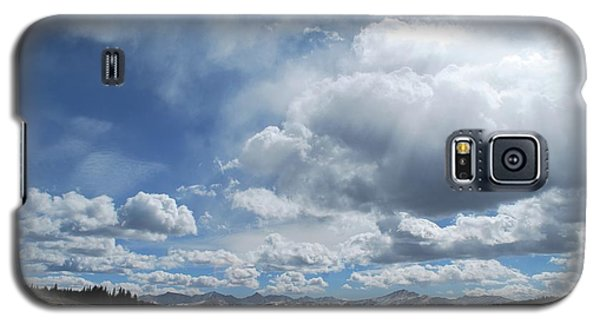 Galaxy S5 Case featuring the photograph Sky Of Shrine Ridge Trail by Amee Cave