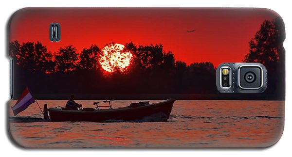 Sky On Fire Galaxy S5 Case by Nadia Sanowar