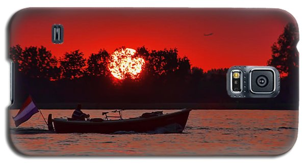 Sky On Fire Galaxy S5 Case