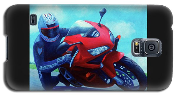 Sky Pilot - Honda Cbr600 Galaxy S5 Case by Brian  Commerford
