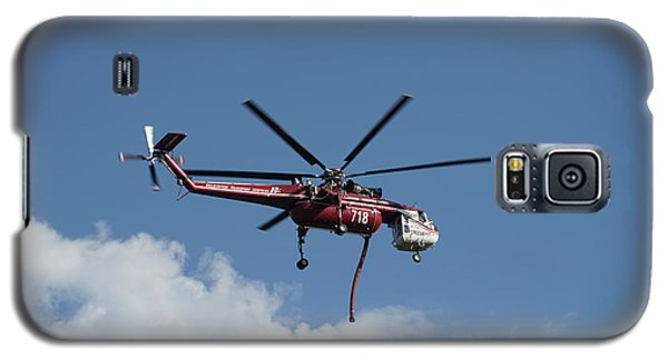 Skycrane Works The Red Canyon Fire Galaxy S5 Case