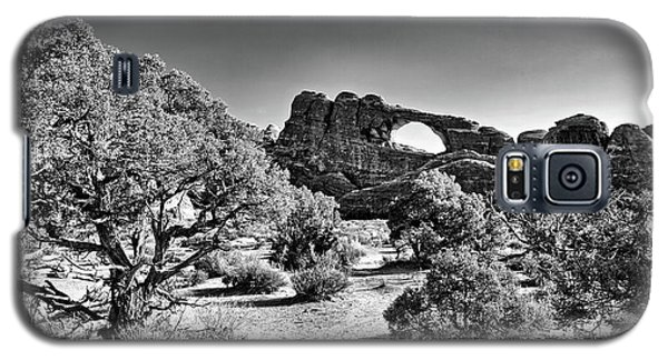 Skyline Arch In Arches National Park Galaxy S5 Case