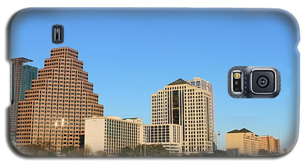 Galaxy S5 Case featuring the photograph Skyline Atx by Sebastian Mathews Szewczyk