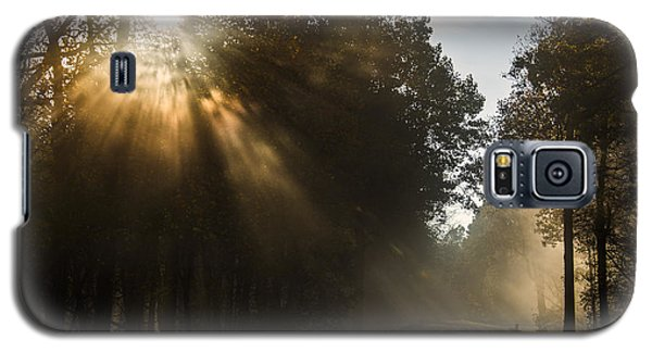 Skyline Drive Fall Color Galaxy S5 Case by Kevin Blackburn
