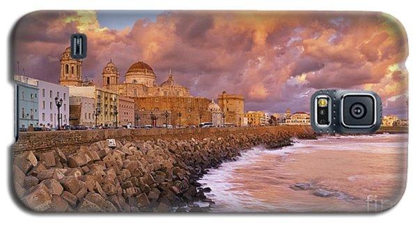 Skyline From Campo Del Sur Cadiz Spain Galaxy S5 Case