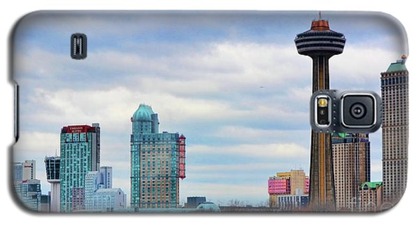 Galaxy S5 Case featuring the photograph Skyline Niagara by Traci Cottingham