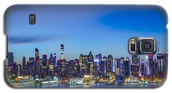 Skyline Nyc Before Sunrise Galaxy S5 Case