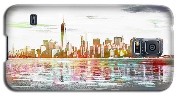 Skyline Of New York City, United States Galaxy S5 Case
