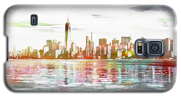 Skyline Of New York City, United States Galaxy S5 Case