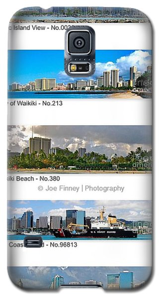Galaxy S5 Case featuring the photograph Skyline View - No.2006 by Joe Finney