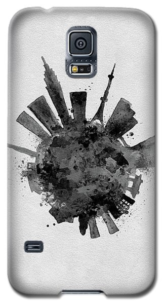 Black Skyround / Skyline Art Of Tokyo, Japan Galaxy S5 Case