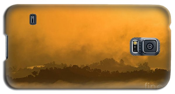 Galaxy S5 Case featuring the photograph sland in the Mist - D009994 by Daniel Dempster