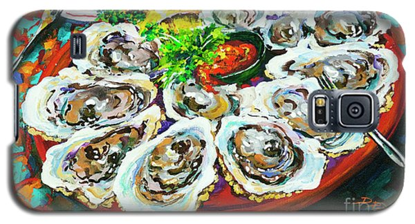 Slap Dem Oysters  Galaxy S5 Case by Dianne Parks