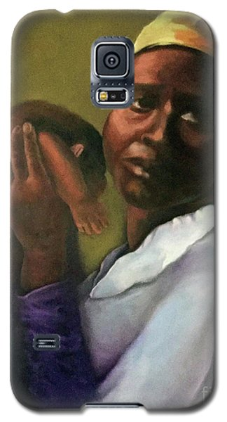 Galaxy S5 Case featuring the painting Slaughter Of The Innocents by Marlene Book